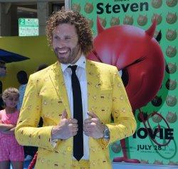"T.J. Miller attends ""The Emoji Movie"" premiere in Los Angeles"