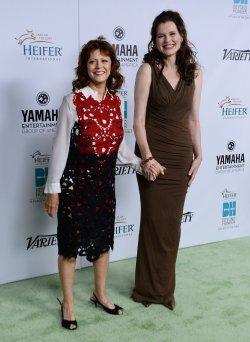 "Heifer International honors Susan Sarandon at ""Beyond Hunger"" gala in Beverly Hills, California"