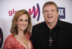Marlee Matlin and Meat Loaf attend the 22nd annual GLAAD Media Awards in Los Angeles