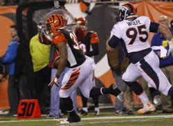 Cincinnati Bengals against the Denver Broncos