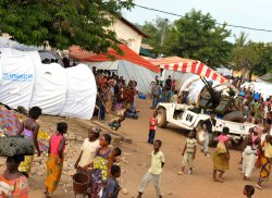 UN Contingent Secures Site for Ivorians Displaced by Post-Electoral Fighting