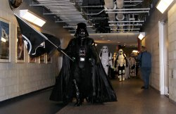 Star Wars Characters at Citi Field in New York