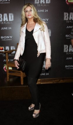 "Kirstie Alley arrives for the ""Bad Teacher"" Premiere in New York"