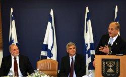 Ehud Olmert, Avraham Hirshzon, Yossi Bachar