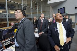 NASA Management at the Launch Control Center