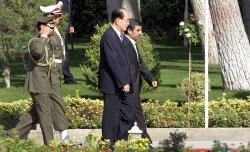 North Korea's Kim Yong-nam Arrives in Tehran