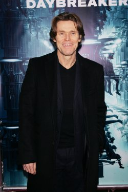 "Willem Dafoe arrives for the premiere of ""Daybreakers"" in New York"
