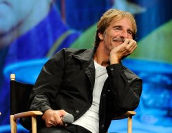 Scott Bakula attends the Star Trek Convention in Las Vegas