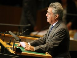 Austria's President Fischer speaks at General Assembly at United Nations