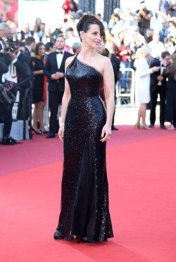 Juliette Binoche attends the Cannes Film Festival