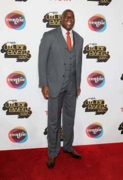 Earvin 'Magic' Johnson arrives at the Soul Train Awards 2012 in Las Vegas