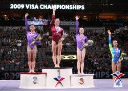 Bridget Sloan Wins U.S. Women's All-Around title at the Visa Championship in Dallas
