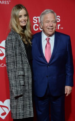Robert Kraft, and Ricki Lander attend the MusiCares Person of the Year gala in Los Angeles