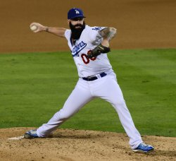 Los Angeles Dodgers vs St. Louis Cardinals in Game 3 of the NLCS in Los Angeles