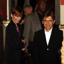 MIKHAIL BARYSHNIKOV ATTENDS GREGORY HINES MEMORIAL SERVICE