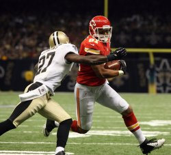 New Orleans Saints vs Kansas City Chiefs at the Mercedes-Benz Superdome in New Orleans