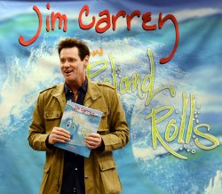 """Jim Carrey signs copies of """"How Roland Rolls"""" in Los Angeles"""