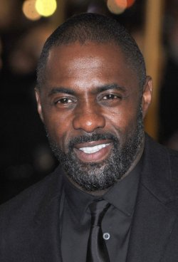 """Idris Elba attends The World premiere of """"Les Miserables"""" in London."""