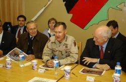 VP CHENEY AND RUMSFELD VISIT AFGANISTAN