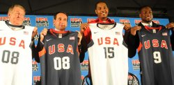 USA Basketball Team for 2008 Beijing Olympics announced in Chicago