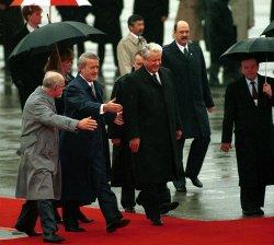 Russian President Boris Yeltsin File Photo