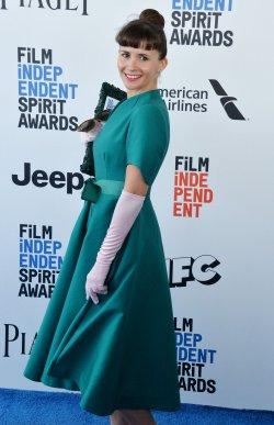 Paula Roman attends Film Independent Spirit Awards in Santa Monica, California