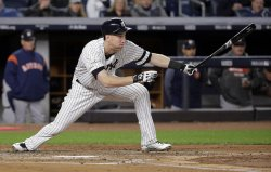 Yankees Frazier hits 3-run homer against Astros in the ALCS