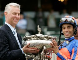 RAG TO RICHES WINS THE 139TH BELMONT STAKES IN ELMONT, NEW YORK
