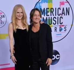 Nicole Kidman and Keith Urban attend the annual 2017 American Music Awards in Los Angeles