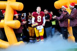 Redskins quarterback Rex Grossman in Maryland