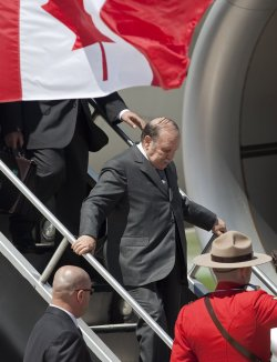 Leaders arrive for G8, G20 Summit in Toronto, Canada