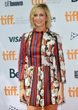 Kristen Wiig attends 'Welcome To Me' premiere at the Toronto International Film Festival
