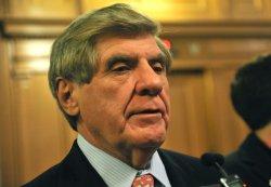 Sen. Ben Nelson (D-NE) talks to reporters on Capitol Hill in Washington