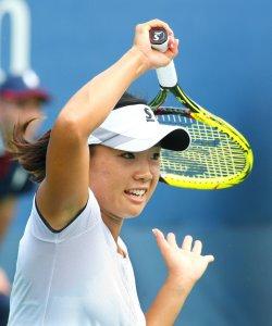 Kurumi Nara vs. Sorana Cirstea at the U.S. Open in New York