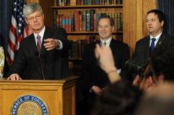 Rep. Bart Stupak speaks on health care in Washington