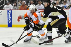 Flyers Defeat Pens 4-3 OT Win in Pittsburgh