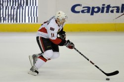 NHL Ottawa Senators at Washington Capitals