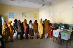 Pakistan votes for Parliament election