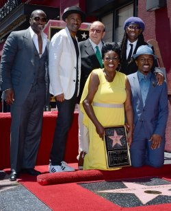 Luther Vandross receives posthumous star on Hollywood Walk of Fame in Los Angeles