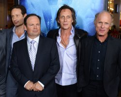 "Cast members attend the ""Phantom"" premiere in Los Angeles"