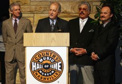Country Music Hall of Fame inductee ceremony in Nashville