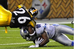 Pittsburgh Steelers versus Detroit Lion Pre-season Game