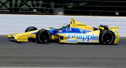 Ed Carpenter wins pole for the 98th running of the Indianapolis 500 at the Indianapolis Motor Speedway