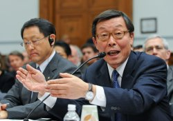 Toyota CEO Akio Toyoda testifies at House hearing in Washington