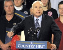 Sen. McCain campaigns in Pittsburgh