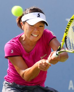 Jelena Jankovic vs Kurumi Nara at the U.S. Open in New York