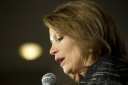 Bachmann delivers concession address in Des Moines, Iowa