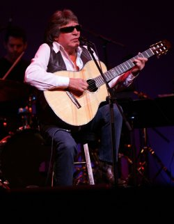 Jose Feliciano performs in concert in the Bronx, New York