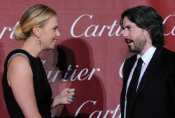 Charlize Theron and Jason Reitman attend the Palm Springs International Film Festival in Palm Springs, California
