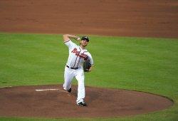 The Atlanta Braves play the Colorado Rockies in Atlanta